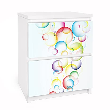Adesivi Per Mobili Ikea.Apalis Pellicola Adesiva Per Mobili Ikea Malm Dresser