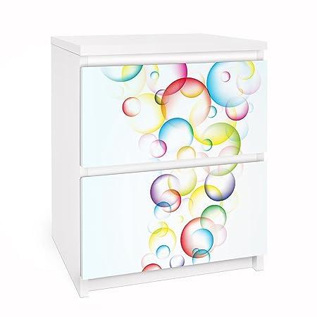 Ikea Adesivi Per Mobili.Apalis Pellicola Adesiva Per Mobili Ikea Malm Dresser 2xdrawers