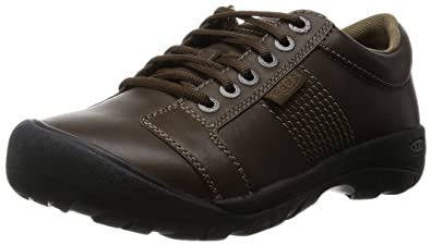 4f38a2e3887 Amazon.com | KEEN Men's Austin Shoe, Cascade Brown Full Grain, 7 M ...