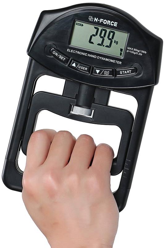 肘比べる貸し手ZAZ デジタル握力計 電池付