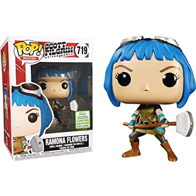 POP! Funko Movies - Scott Pilgrim VS. The World - Ramona Flowers ECCC 2020 Spring Convention Exclusive: Toys & Games