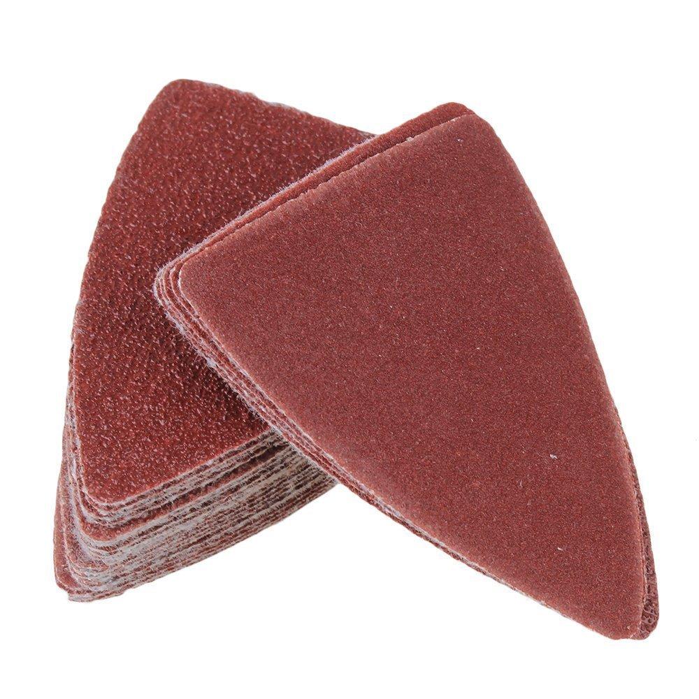 60//80//120//180//240/Grain Lot de 20/de chaque Doigt polissage Sable Lot de 100/pcs 90/mm//8,9/cm doigt abrasif et doigt polissage Pad avec syst/ème dajustement universel.