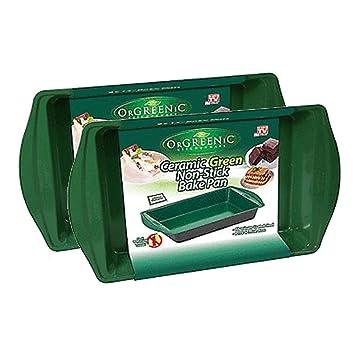 Orgreenic bandeja para hornear 9 en por 13 en: Amazon.es: Hogar