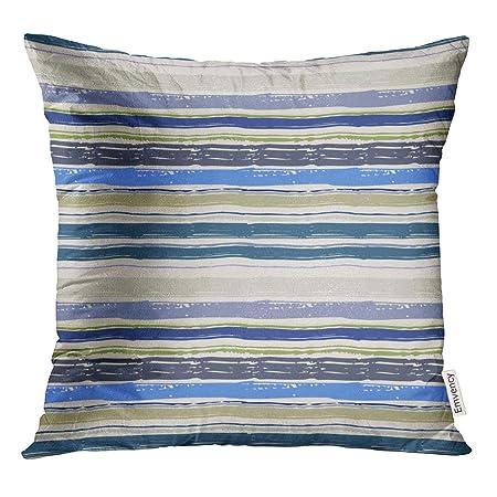 Semtomn Fundas de almohada decorativas de 40,6 x 40,6 cm, diseño ...