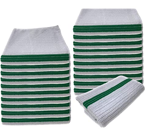 240 new white terry wiping shop towels bar mop towels 16x19 32oz wholesale