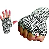 XpeeD Printed Elastic Stretchy /Nylon MMA Exercise Weight Lifting / Boxing Hand Wrap Bandages / Power Gym Fitness Body Ring Fight Handwraps 160 inches long With Blister Packaging Multicolor (Pack of Two(2)