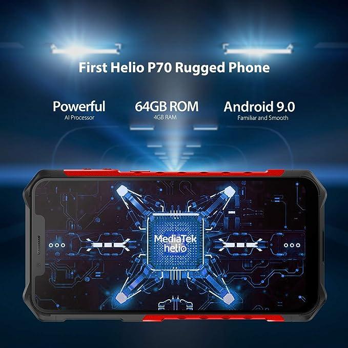 Amazon.com: Ulefone Armor 6E Teléfono celular resistente ...