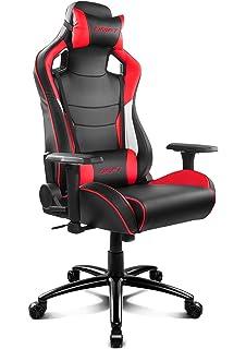 Drift Dr300 Silla Piel Sintetica Negro Rojo 48x61 5x129 Cm Drift