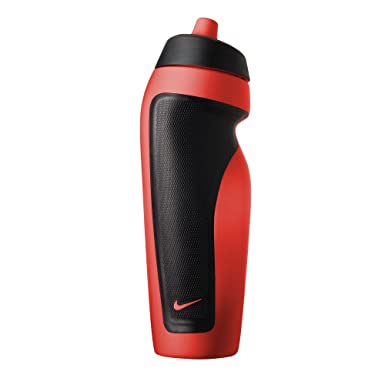 new style b7757 42054 Nike Sports Water Bottle (One Size) (Bright Crimson Black)