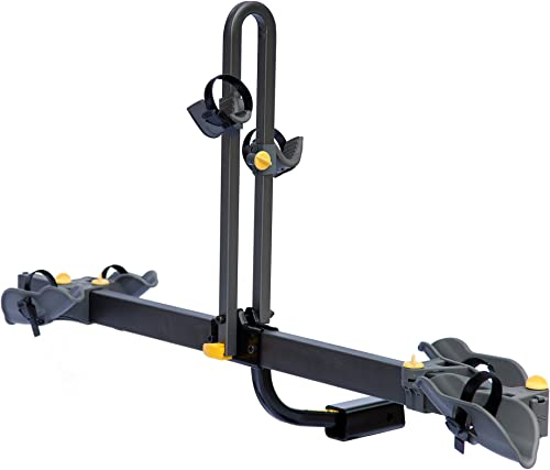 Saris Freedom Bike Hitch and Spare Tire Car Rack Mount, 2 or 4 Bicycle Carrier Options