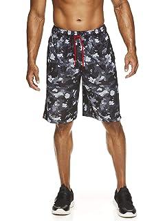AND1 Mens Camo Print Basketball Shorts