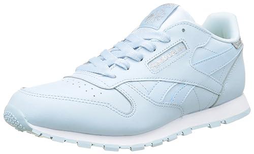 Reebok Classic Leather Pastel Trainers, Zapatillas para Niñas: Amazon.es: Zapatos y complementos