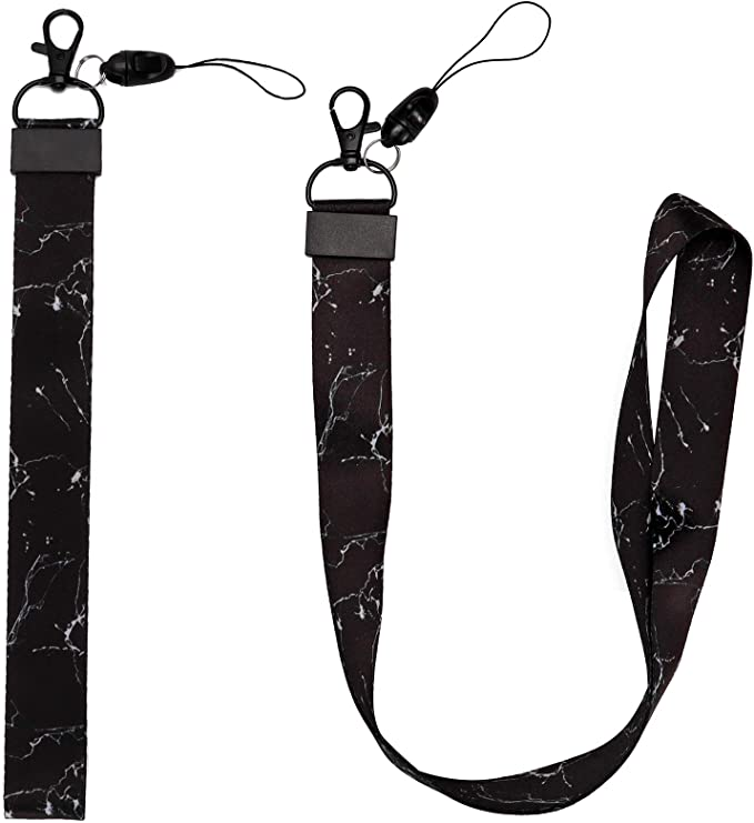 Details about  /10 Pack Colorful Hand Wrist Neck Lanyards Straps Bulk KeychainsTag Badge Holders