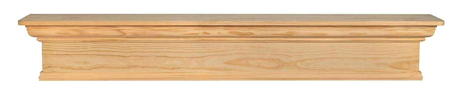 Pearl Mantels 420-48 Savannah Mantel Shelf, 48-Inch, Unfinished