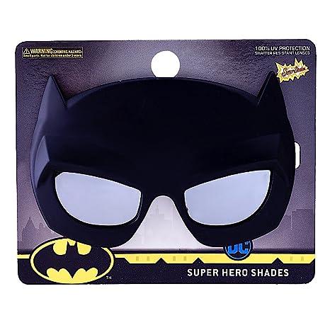 bf60c2bdbd Amazon.com  Costume Sunglasses Lil  Characters Batman Mask Sun-Staches  Party Favors UV400  Toys   Games