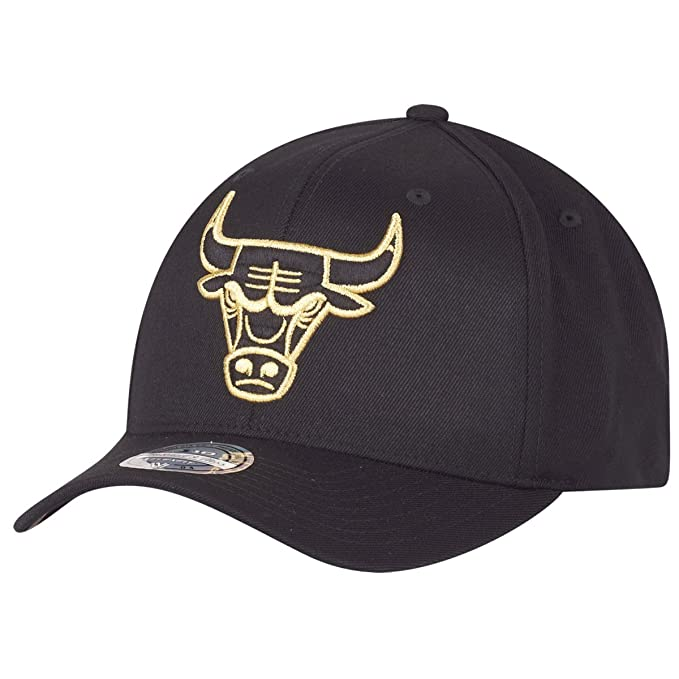 Mitchell & Ness Mujeres Gorras/Gorra Snapback he Black And Golden ...