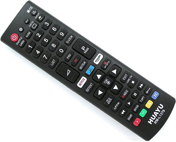 Mando a Distancia de Repuesto para LG LCD LED Smart TV televisor | Netflix Amazon Funktion: Amazon.es: Electrónica
