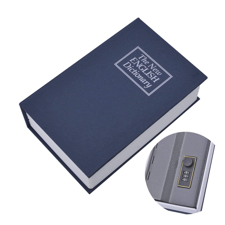 素晴らしい価格 数字組み合わせ本の金庫新しい英語の辞書の秘密の隠された現金お金の箱ジュエリーセキュリティ B07CWRWNBD B07CWRWNBD, 胡蝶蘭の専門店オーキッドハウス:745d6edc --- a0267596.xsph.ru