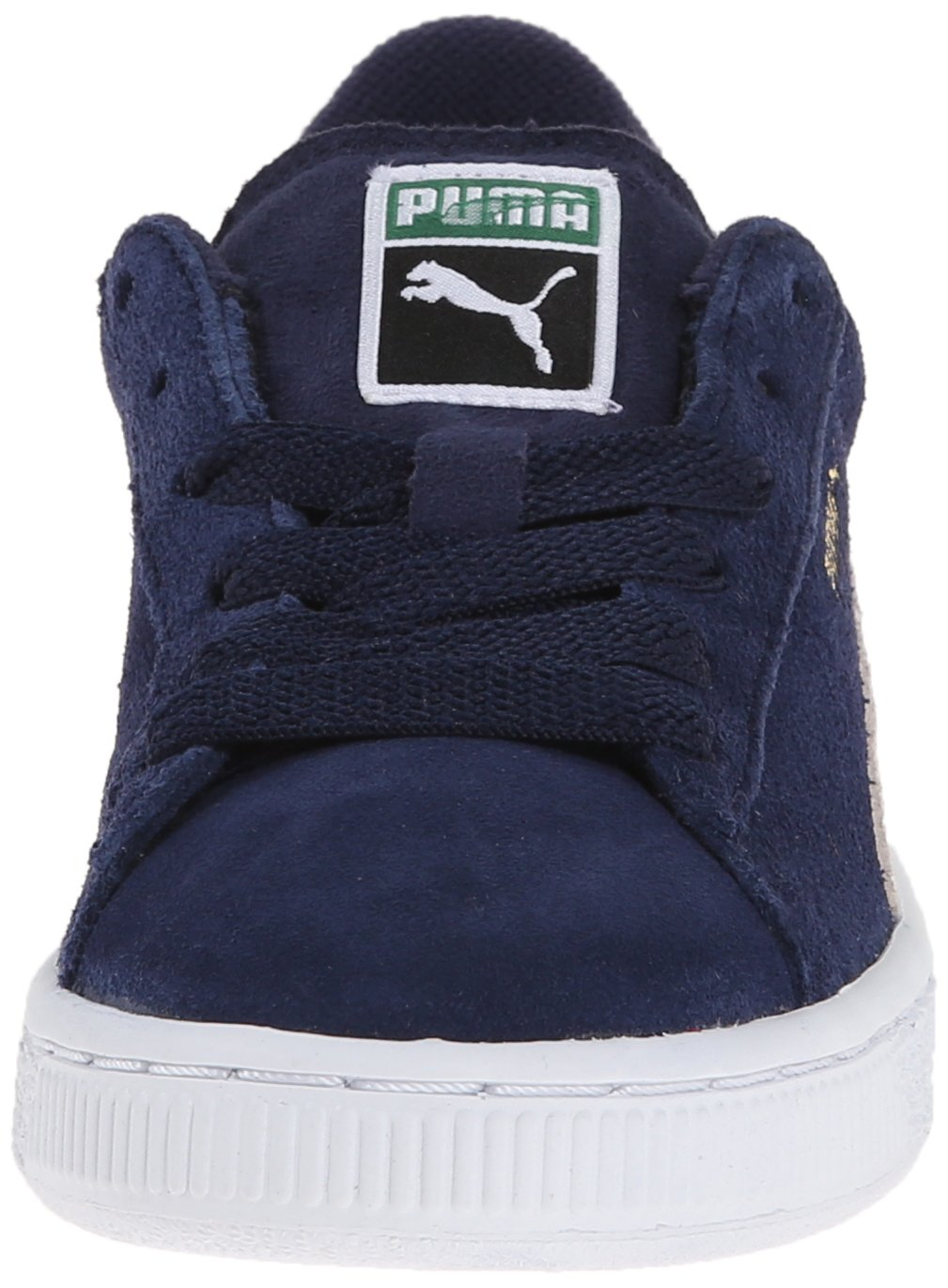 PUMA Suede JR Classic Kids Sneaker (Little Kid/Big Kid) B00OBV1A9E Kid|Peacoat/Team 12.5 M US Little Kid|Peacoat/Team B00OBV1A9E Gold 06ebd7