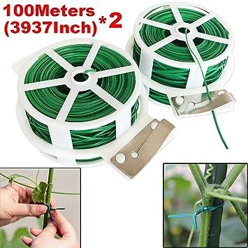 Sconto speciale vendita calda autentica diversificato nella confezione 2 fili da 100m multifunzione linea giardino cravatte con ...