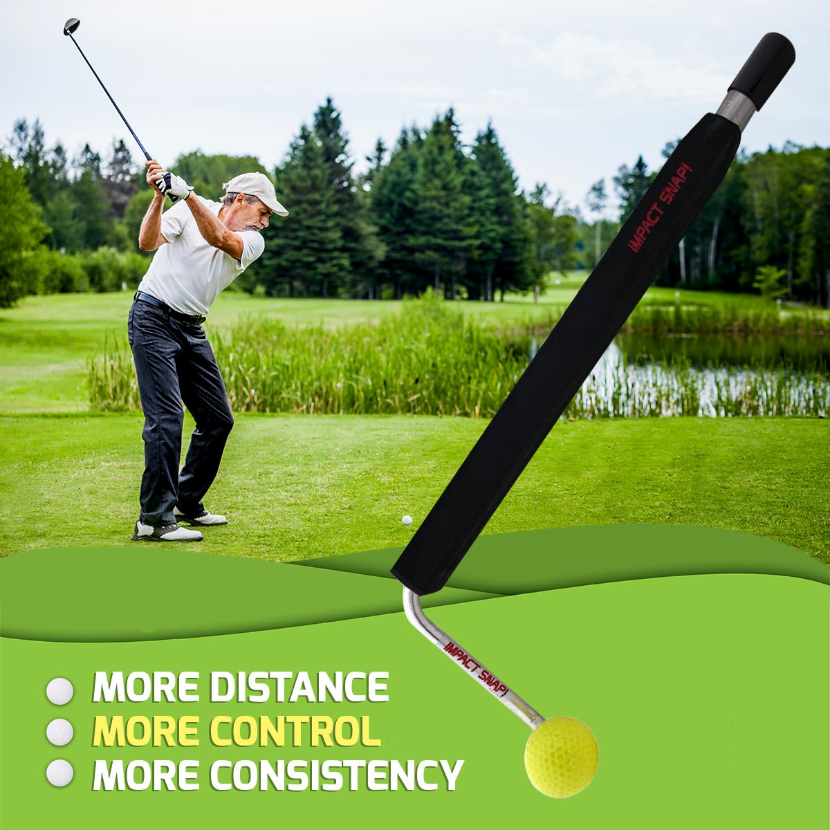 Amazon.com: IMPACT SNAP & Clubhead Attachment Combo (solo ...