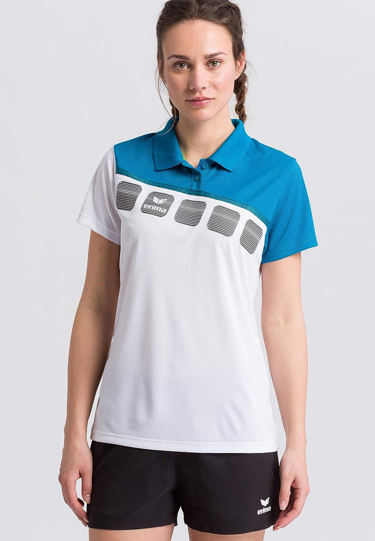 Erima GmbH 1111919 Polo de Tenis, Mujer: Amazon.es: Deportes y ...