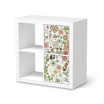 Klebetapete Folie Aufkleber Für IKEA Kallax Regal 2 Türelemente Hochformat  | Möbel Folieren Sticker Möbel Möbelfolie