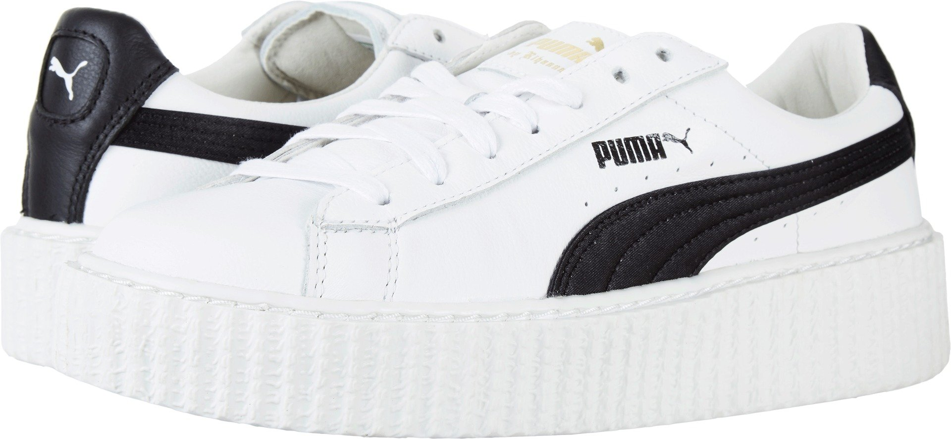 PUMA Women's Creeper Puma White/Puma Black 9 B US by PUMA