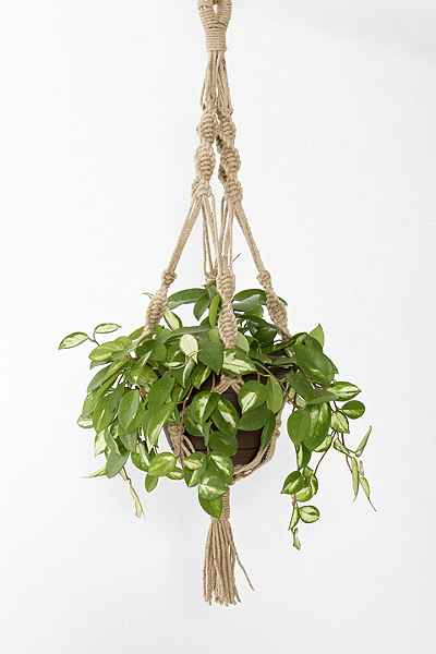 Magical Thinking Hand-Knotted Hanging Planter - Urban Outfitters