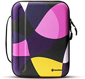 tomtoc Portfolio Case for 2020 10.9 iPad Air 4/ iPad Pro 11 / 2020 New iPad 10.2 / iPad Air 10.5 , Organizer Bag Holder for iPad Pencil, Cable, A5 Note, Business Storage Padfolio with Tablet Sleeve