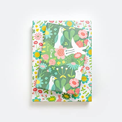 Decorative Paper- Wrapping Paper 6 Sheets Craft Paper : Garden Gift Wrap