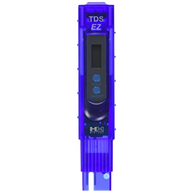 HM Digital TDS-EZ Water Quality TDS Tester, 0-9990 ppm Measurement Range, 1 ppm Resolution, 3% Readout Accuracy