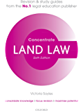 Land Law Concentrate: Law Revision and Study Guide (English Edition)