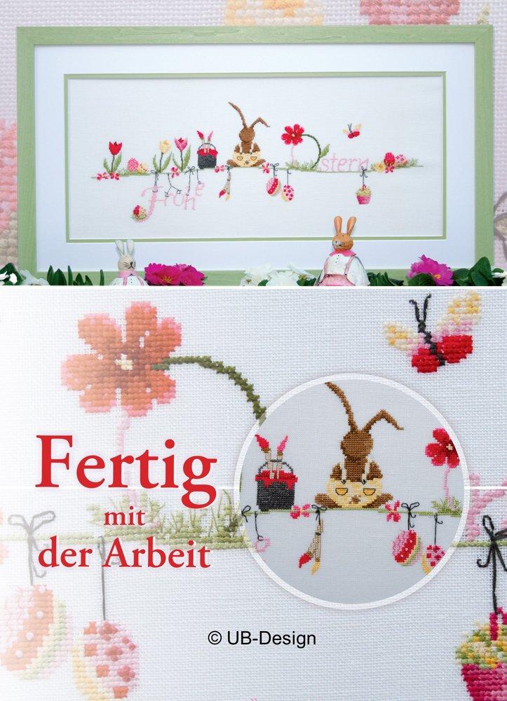 9e95677ffdf8bd UB-Design - Kreuzstichbuch - Langohr trifft Frühling - Stickvorlagen ...