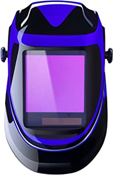 Pro Welding Helmet with Highest Optical Class 3.9 1//1//1//1 Larger Viewing Area