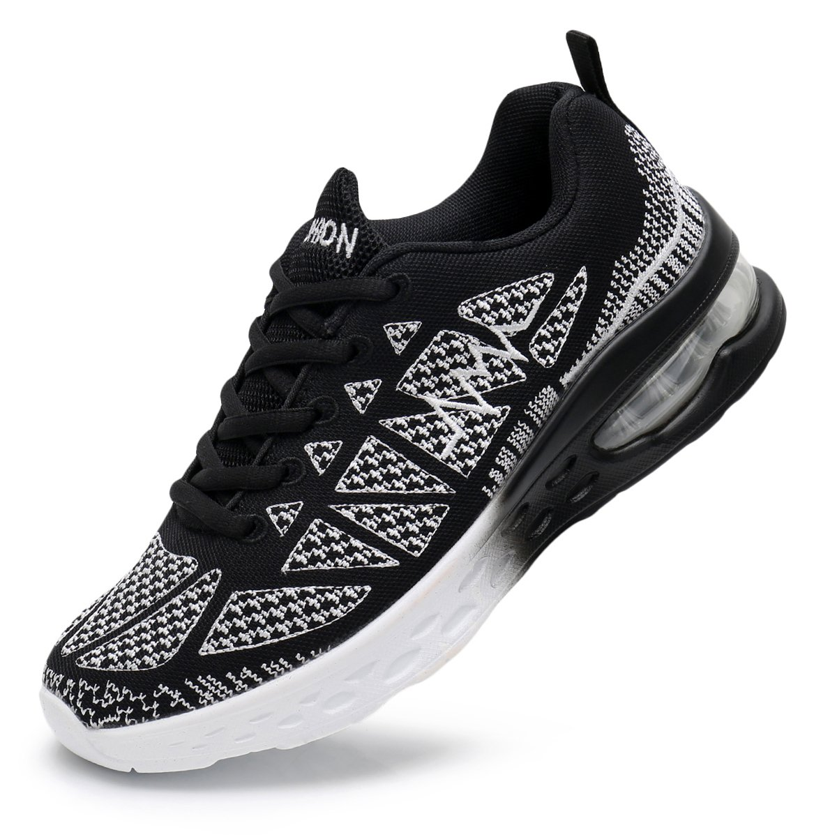 MEHOTO Womens Fashion Walking Shoes Sport Air Fitness Workout Gym Jogging Running Sneakers Black 9 B(M) US