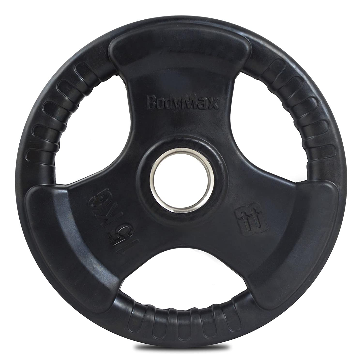 Bodymax Olympic Rubber Radial Weight Disc Plate 15kg