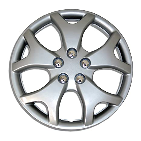 Amazon.com: TuningPros WSC-618S14 Hubcaps Wheel Skin Cover 14-Inches Silver Set of 4: Automotive