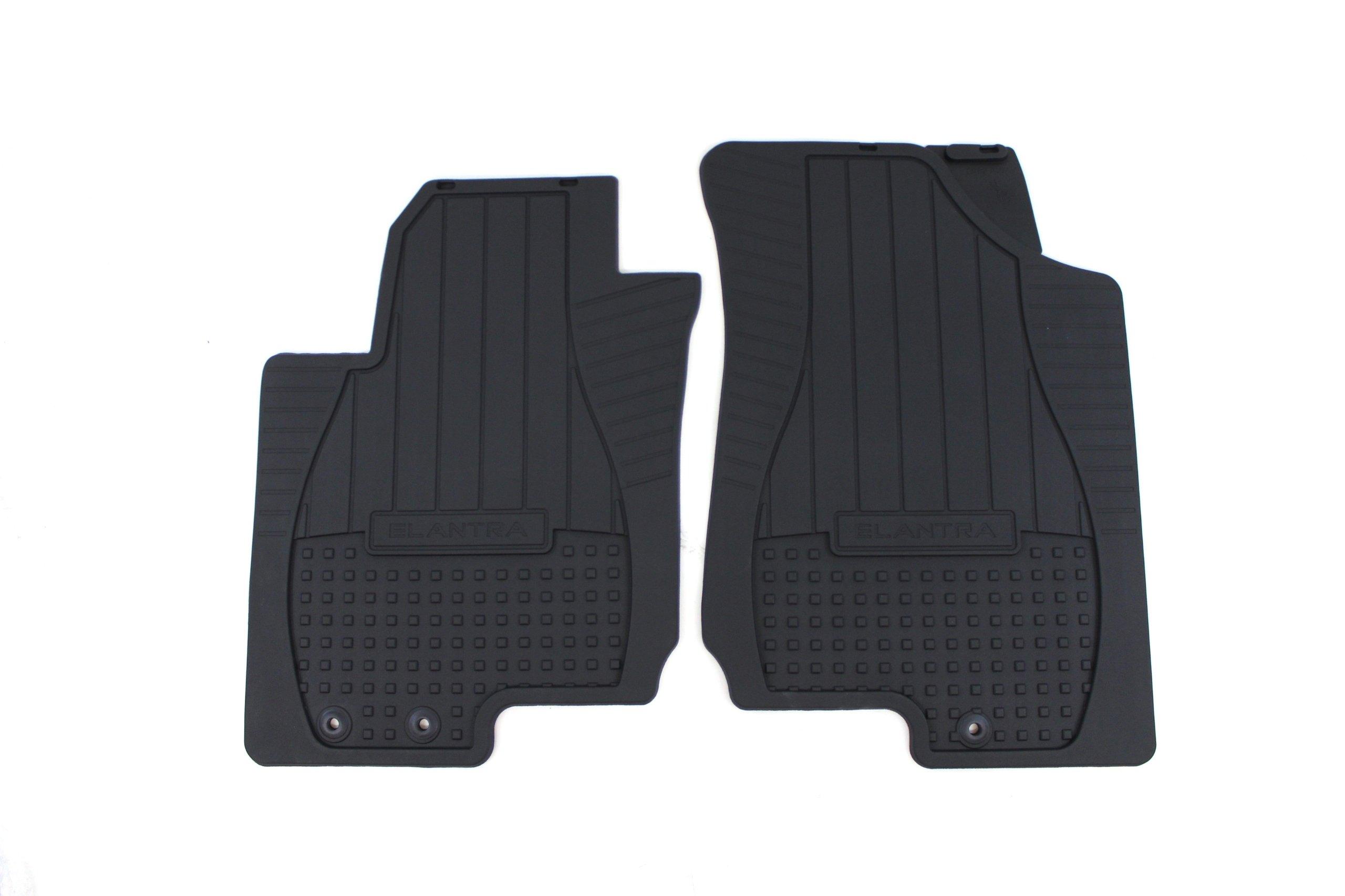 Genuine Hyundai Accessories U8130-2H000 Front All Weather Floor Mat for '07-'10 Hyundai Elantra / Touring