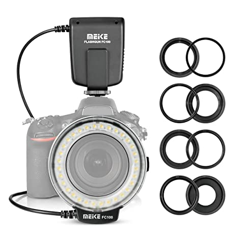 Meike FC100 - Anillo Macro para cámara réflex Digital Nikon Canon ...