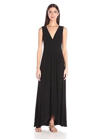 001f00c6485 Star Vixen Women s Sleeveless Surplice Tulip Skirt Empire Band Maxi Dress