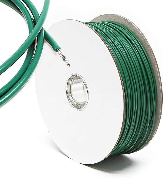 Cable perimetral instalación robot cortacésped jardín Bobina 250m Rollo cable Cordón limitación