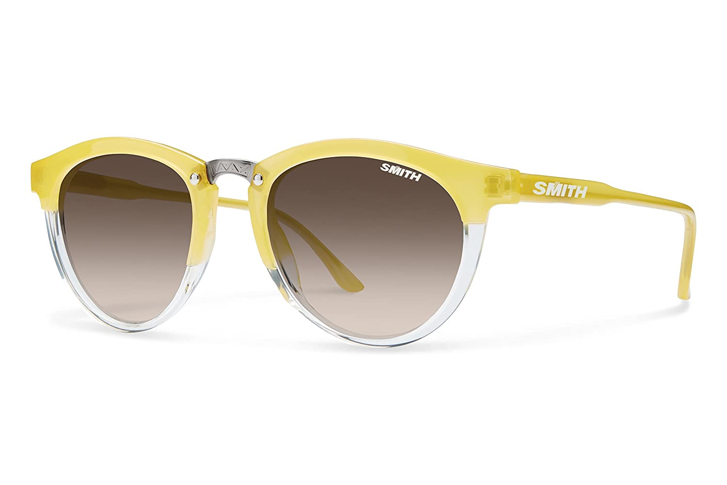 Smith Optics Womens Questa Archive Sunglasses Lemon Crystal//Brwn Gradient