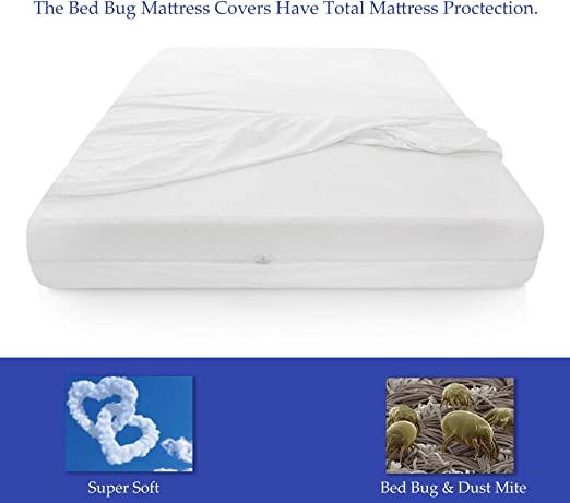 Mattress or Box Spring Protector  6-9 Inch Twin