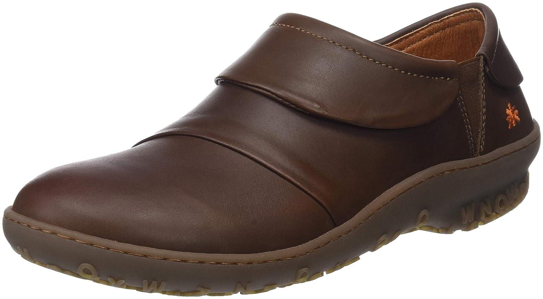Art Grass, Zapatillas sin Cordones para Mujer 36 EU Marrón (Brown Brown)