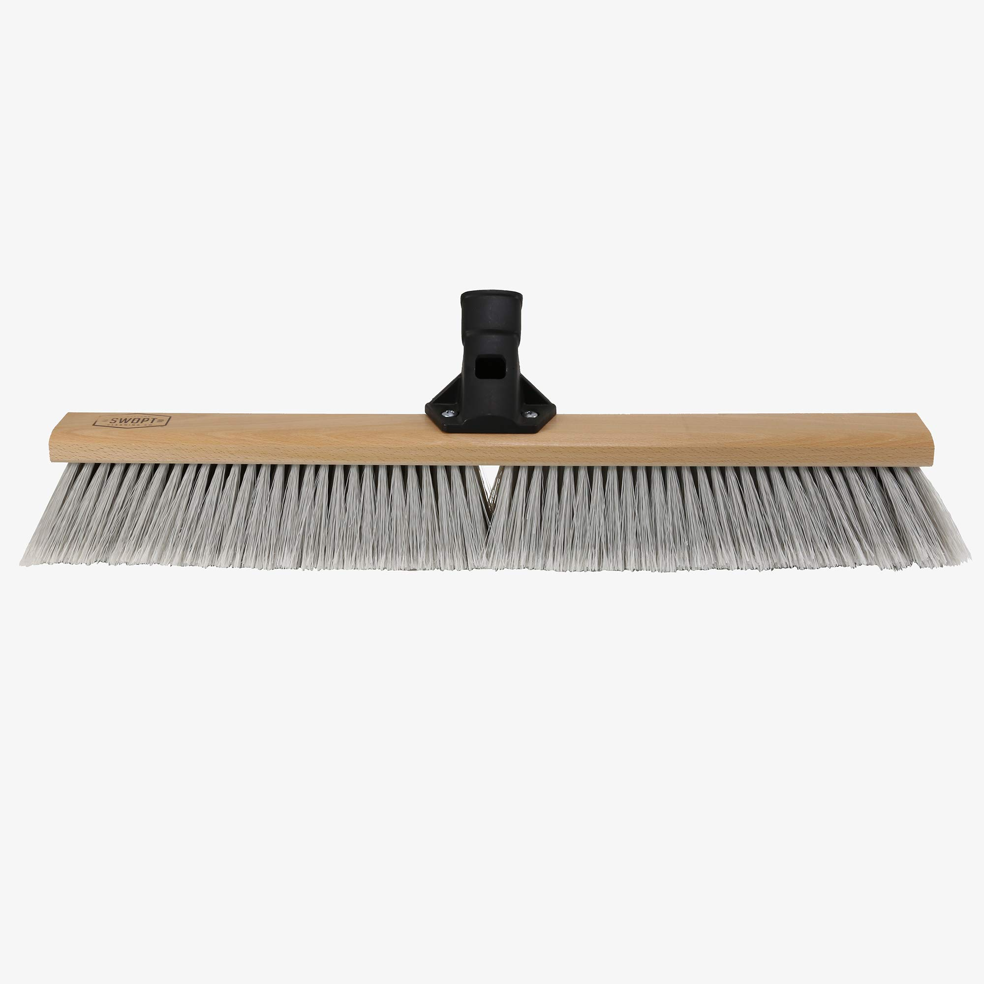 Swopt 5118C4 SWOPT 24 Premium Smooth Surface Push Broom Head, Push Broom for Indoor Use, Picking up Finer Particles