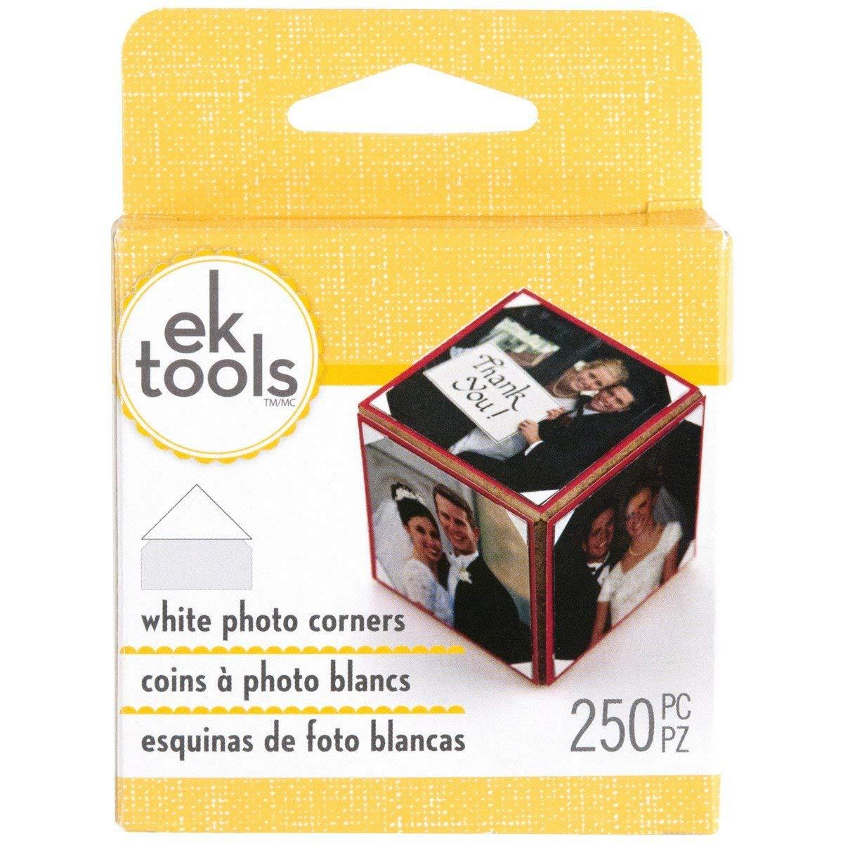 EK Tools Adhesive Photo Corners Clear