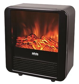 Silva Homeline FP de H 085 eléctrico de chimenea 900/1800 W Efecto Llama Decoración calefactor Horno Calefacción: Amazon.es: Electrónica