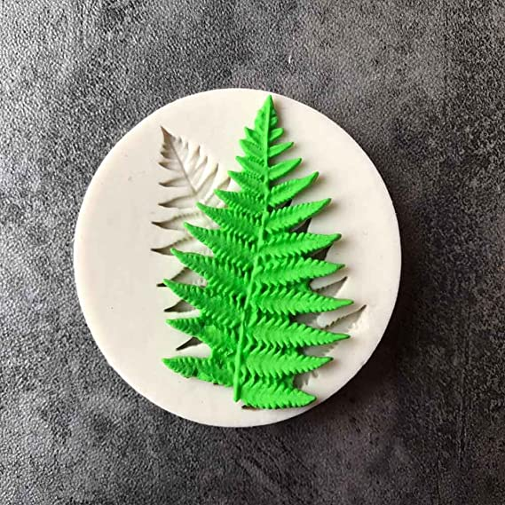 Amazon.com: Candy Making Molds, Silicone Molds Leaves - Leaves Silicone Mold - Molds Fern Of Leaves Silicone Mold Fondant Mold Cake Decorating Tools ...