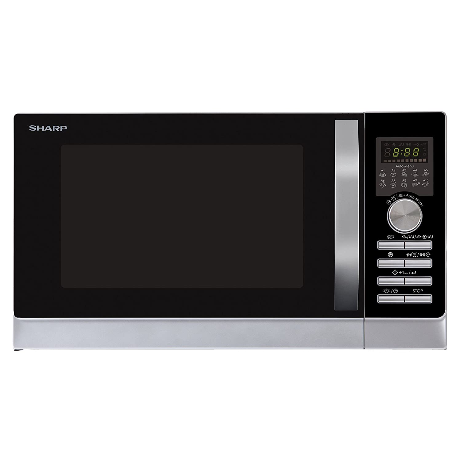 Sharp R843INW Mikrowelle/Express Pizza – Programm: Pizza optimal in ...